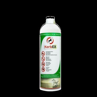 Foto: Flasche, 1000ml, KerbEx grün Insektenschutz für Pferde ohne Knoblauch